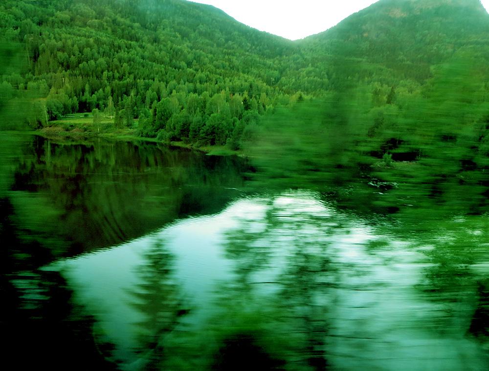 Grüne Landschaft für Elfen